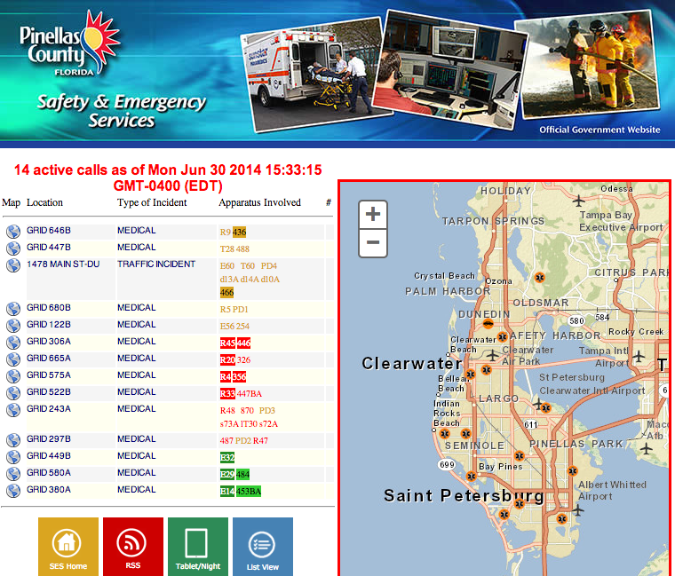 click on the image to get the live map constantly updated
